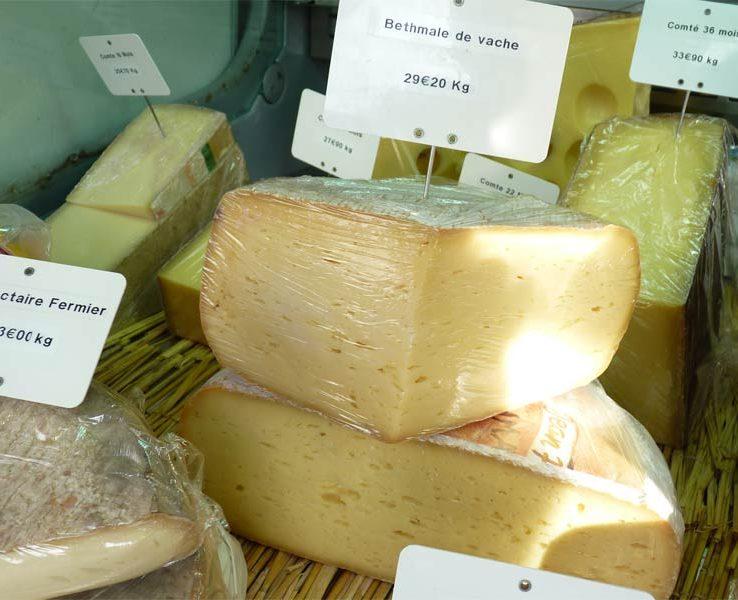 Bethmale de vache Fromage pyrénéen de l'Ariège, au lait entier, à pâte pressée