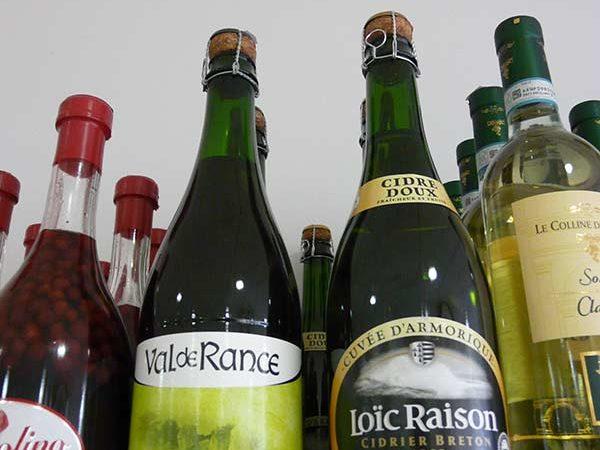 Cidre bio Val de Rance et cidre Loïc Raison