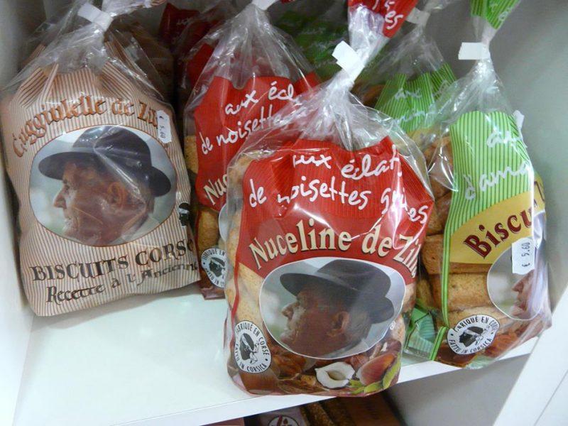 Biscuits corses Cuggiulelle et nuceline