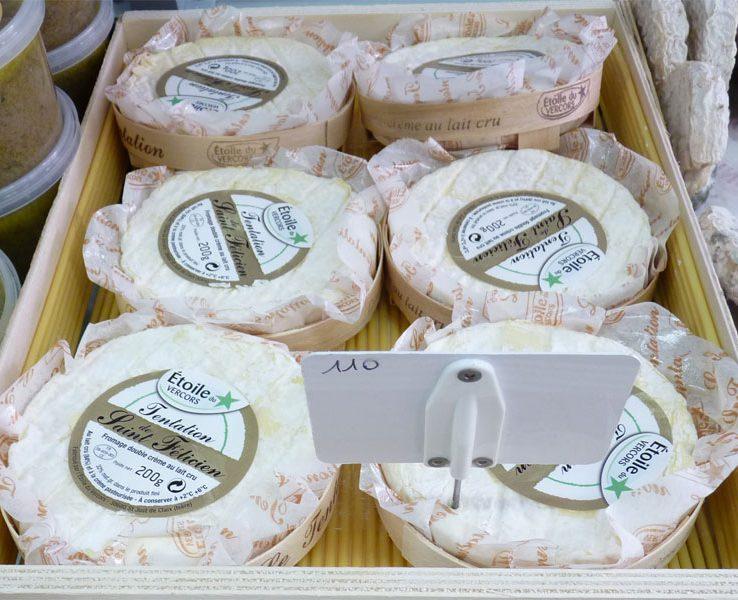Etoile du Vercors Tentation de Saint Félicien, fromage double crème au lait cru