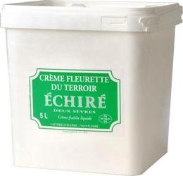 Crème fleurette Echiré
