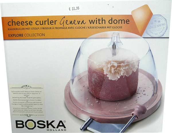 Friseur à fromages Boska avec cloche