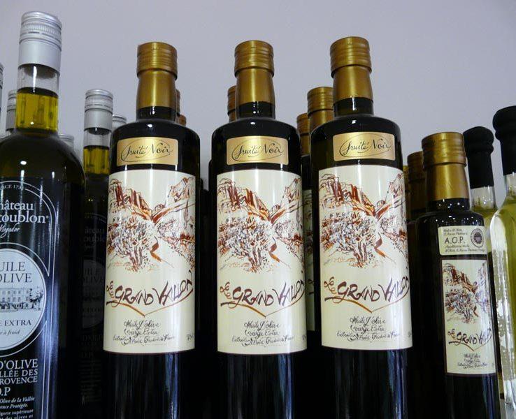 Huile d'olive Grand Vallon - fruité noir