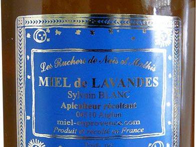 Miel de lavandes Les Rûchers de Naïs et Mathis. Label rouge.