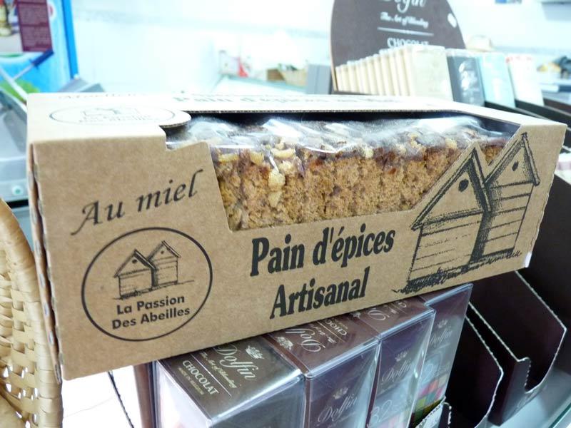Pain d'épices artisanal au miel, La Passion des Abeilles