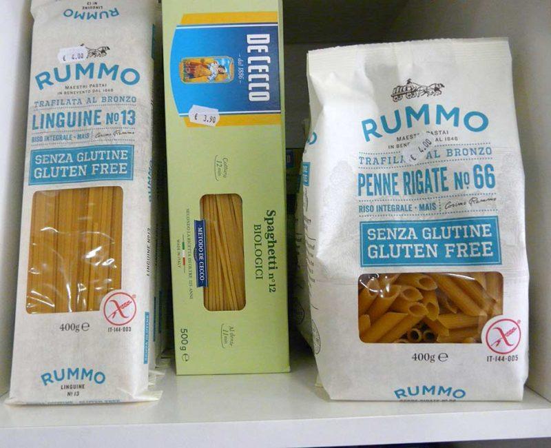 Pâtes sans gluten Rummo