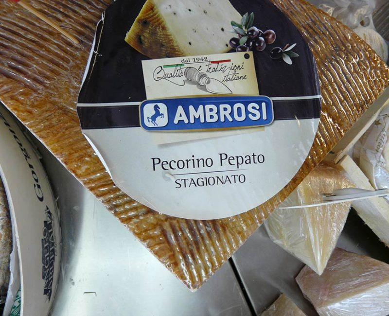 Pecorino pepato affiné Ambrosi