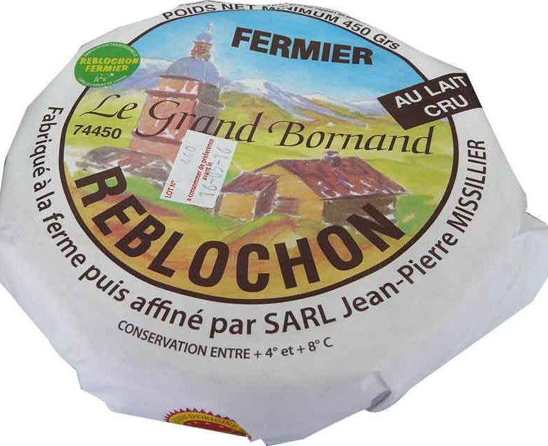 Reblochon fermier Le Grand Bornand