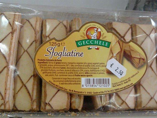 Sfogliatine Gecchele