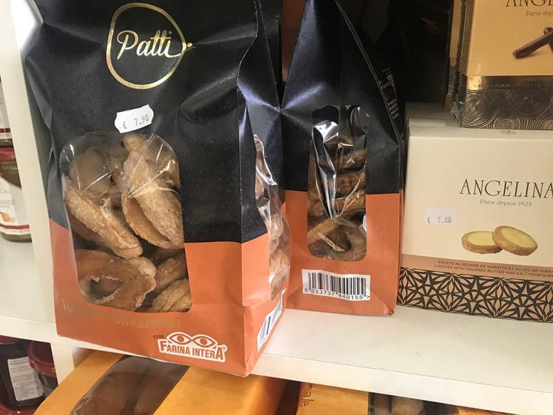 Torcetti Patti à la farine complète